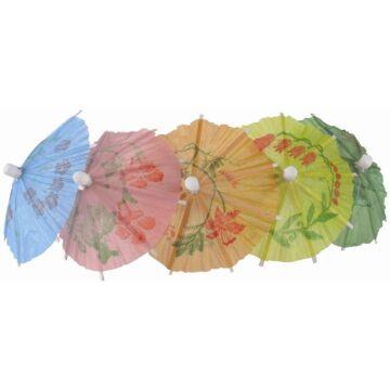 Parasols Beaumont, kleuren assorti, 17cm (box 144)
