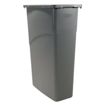 Rubbermaid Slim Jim, Container 60 Ltr. (Grijs)
