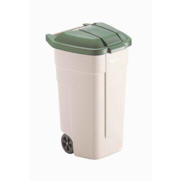 Rubbermaid rolcontainer met Groene deksel
