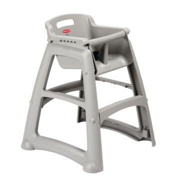 Kinderstoel Rubbermaid, grijs, incl antislip voetjes