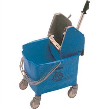 Mobiele mopemmer blauw Rubbermaid,  capaciteit: 25 liter, zware kwaliteit