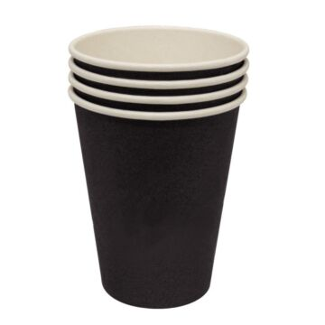 Hot cup enkelwandig Kraft donkerbruin 24cl (Box 50)