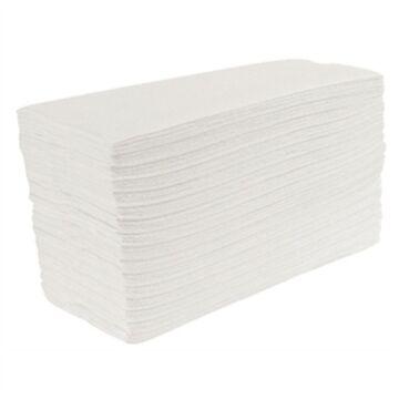 Handdoeken Jantex, wit, C-gevouwen, 2-laags, 24 stuks, dispenser zie: GD839