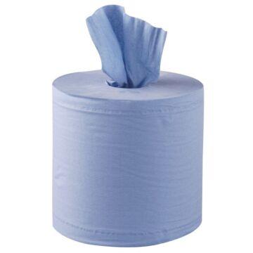 Handdoekrollen Jantex, blauw, 2-laags, 6 stuks, handdoekdispenser zie: GD836 en GJ030