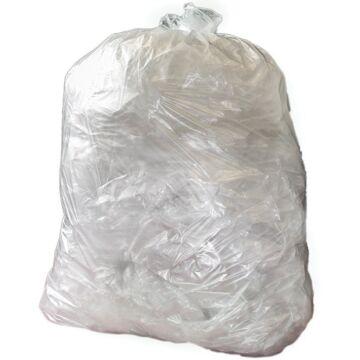 Jantex middelzware kwaliteit vuilniszakken 10kg transparant (Box 200)