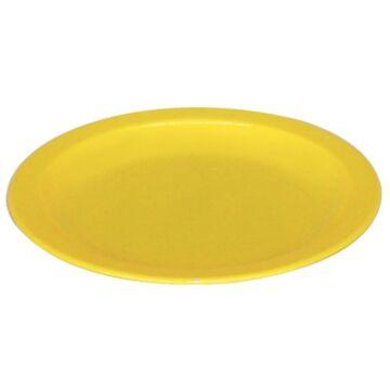 Kristallon polycarbonaat bord 23cm geel (Box 12)