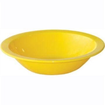 Kristallon polycarbonaat schaaltje 17cm geel (Box 12)