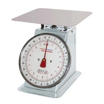 RVS Weegschaal, 20 kg per 50 gram