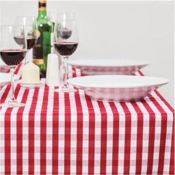 Mitre Comfort Gingham tafelkleed rood-wit 89 x 89cm