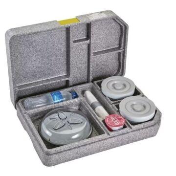 Cambro Tablotherm Cam GoBox maaltijdbezorgingssysteem met servies
