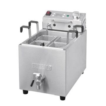 Buffalo pastakoker 8L met aftapkraan en timer, 28,5(b)x52x(d)43(h)cm, 230V/3000W