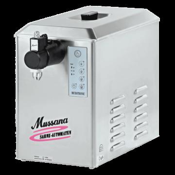 Slagroommachine Mussana 4 Liter Boy, 12V, TBV Foodtrucks