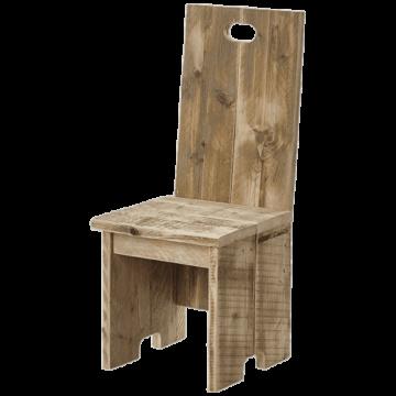 Horeca terrasstoel steigerhout Memphis, diverse kleuren. Vanaf 2 stuks