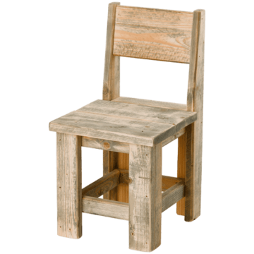 Horeca terrasstoel steigerhout Memphis II, diverse kleuren. Vanaf 2 stuks