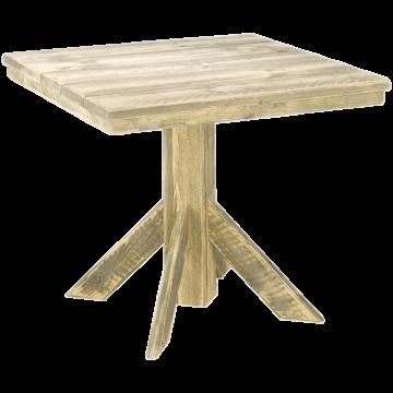 Horeca tafel steigerhout Memphis, II, diverse kleuren, 2 maten. Vanaf 2 stuks