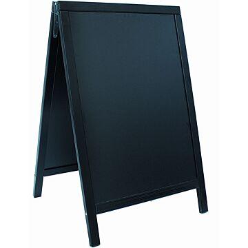Stoepbord Basic 6kg, 85x55cm Zwart, Securit