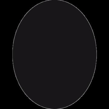 Wandkrijtbord Securit, Ovaal, incl. 1 krijtstift dun wit