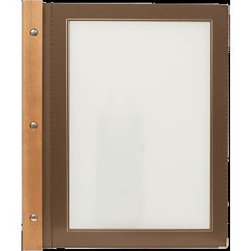 Menumappen A4 Securit, Woodrange, 6 kleuren verkrijgbaar
