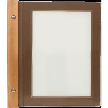 Menumappen A5 Securit, Woodrange, 6 kleuren verkrijgbaar