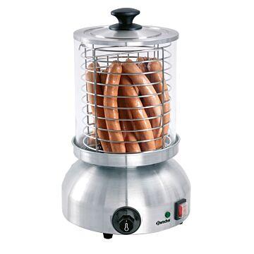 Hotdog apparaat Bartscher, RVS, rond, 230V/800W