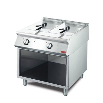 Friteuse Gastro M, elektrisch,  2x10L, 80(b)x85(h)x70(d), 400V/15kW