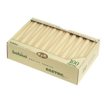 Bolsius Gotische Kaarsen Wit (Box 100)