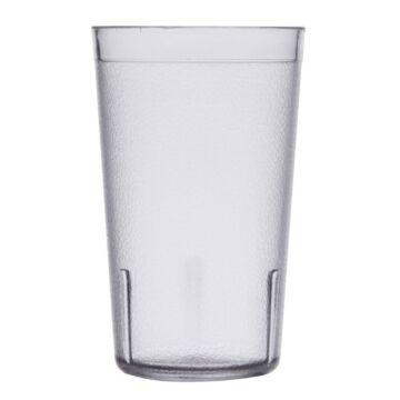 Kristallon polystyreen glazen 28,4cl, 12(h) x 7,3(Ø)cm