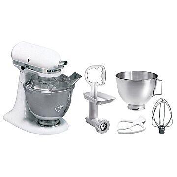 Mixer Bartscher, STL Kitchen Aid, wit, 4,28L, 36(b)x36(h)x22(d), 230V/250W