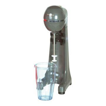 Milkshaker 1-spindel antraciet, H47 x B17 x L17, 230V / 400W