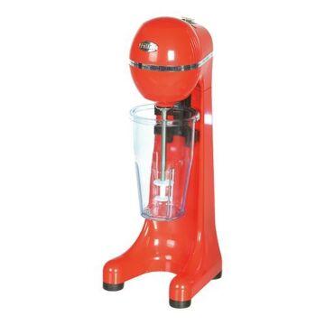 Milkshaker 1-spindel rood, H47 x B17 x L17, 230V / 400W