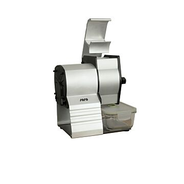 Saro kaasraspmachine model EVO 75, 23(B)x24(D)x26(H)cm, 230V/600W