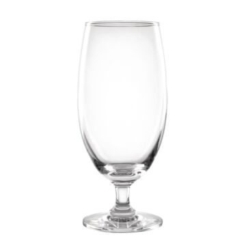 Olympia bierglazen op voet 420ml (6 stuks), 17,2(h) x 7,6(Ø)cm