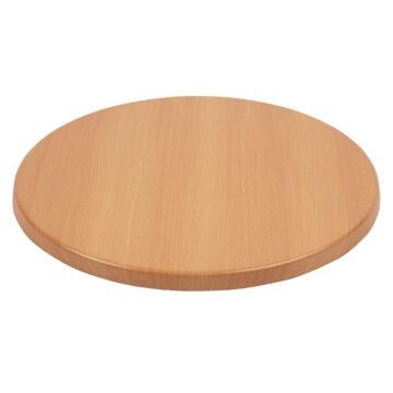 Bolero rond tafelblad beuken 60cm, 3(h) x 60(Ø)cm