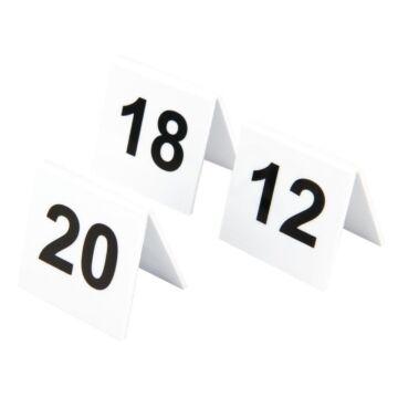 Tafelnummers Olmypia, set 11-20