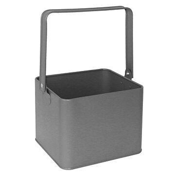 Olympia gegalvaniseerde tafelorganiser grijs 18(h) x 15,5(b) x 13,5(d)cm