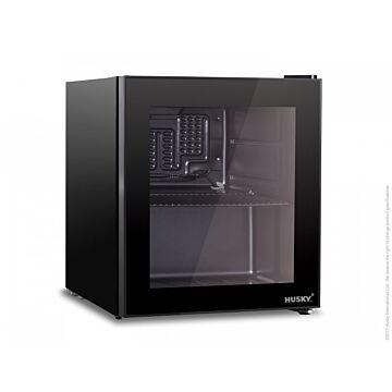 Koelkast met glasdeur Husky, 46L, 43(b)x47(D)x51(H), 230V/95W