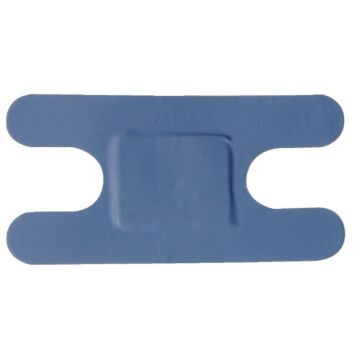 Pleisters HVS-select, blauw assorti, 100 stuks
