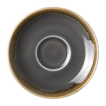 Olympia Kiln espressoschotels grijs 11,5cm, 11,5(Ø) x 1,7cm