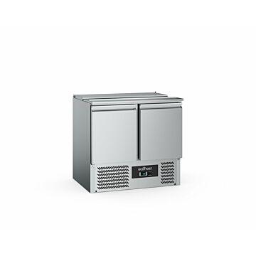 Ecofrost Saladette 2 Deurs, 2x1/1 +3x1/6 Gn, 240L ,90Bx88Hx70D, 170W/230V