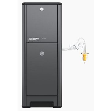 Melk dispenser tbv Espressomachines Bravilor, FreshMilk melkschuimer, 230V, 1650W, 240x460x(H)630mm