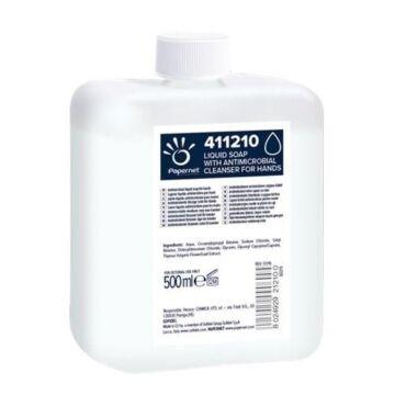 Antibacteriële Zeep wit Papernet 500ml, 12 flacons