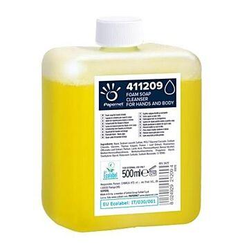 Foamzeep Papernet geel 500ml, 12 flacons