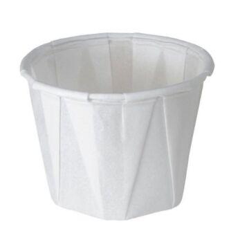 Wegwerp waxed paper tipje 28 ml 250st