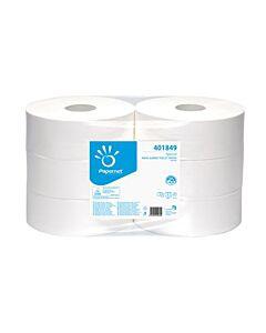 Toiletpapier Papernet Maxi jumbo 2lgs wit 360mtr, 6x1 rollen