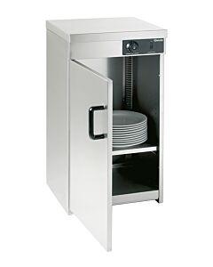 Bartscher Warmkast, 1deurs, 55-60 borden, B 450 x D 450 x H 855 mm