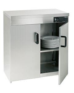 Bartscher Warmkast, 2deurs, 110-120 borden, B 750 x D 450 x H 855 mm