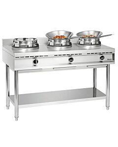 Gas wok kookplaat Bartscher, 150(b)x96(h)x60(d)cm, 34.5 kW