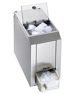 Bartscher ijscrusher, RVS, 60 kg per uur