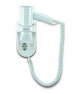 Haardroger Valera,  Premium Smart 1200 Socket, wandmontage, spiraalsnoer, wit, 1200 W