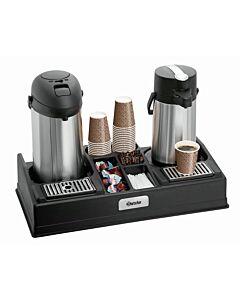 Koffiestation Bartscher, voor thermoskannen tot een diameter van 19cm